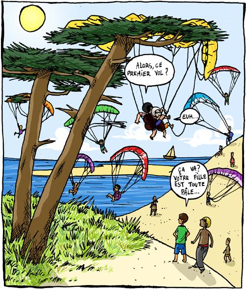 Parapente blog de z lie - Parapente dessin ...