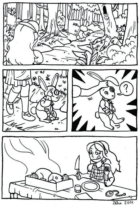 Alice, planche 2