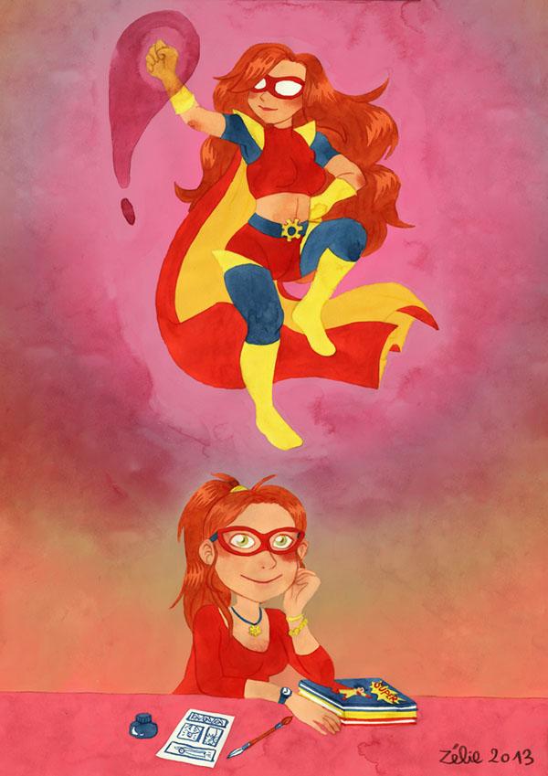 super_heroine