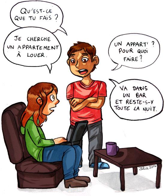 Recherche d'appartement