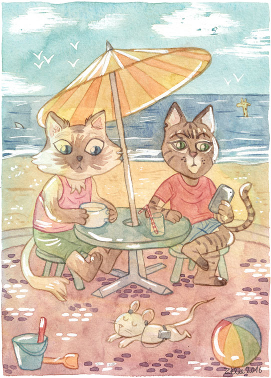 chats_plage