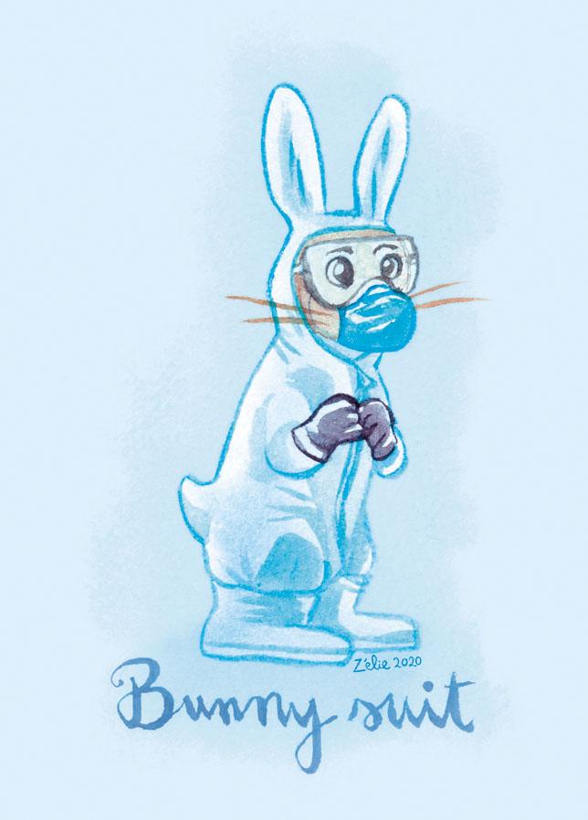 «Bunny suit»